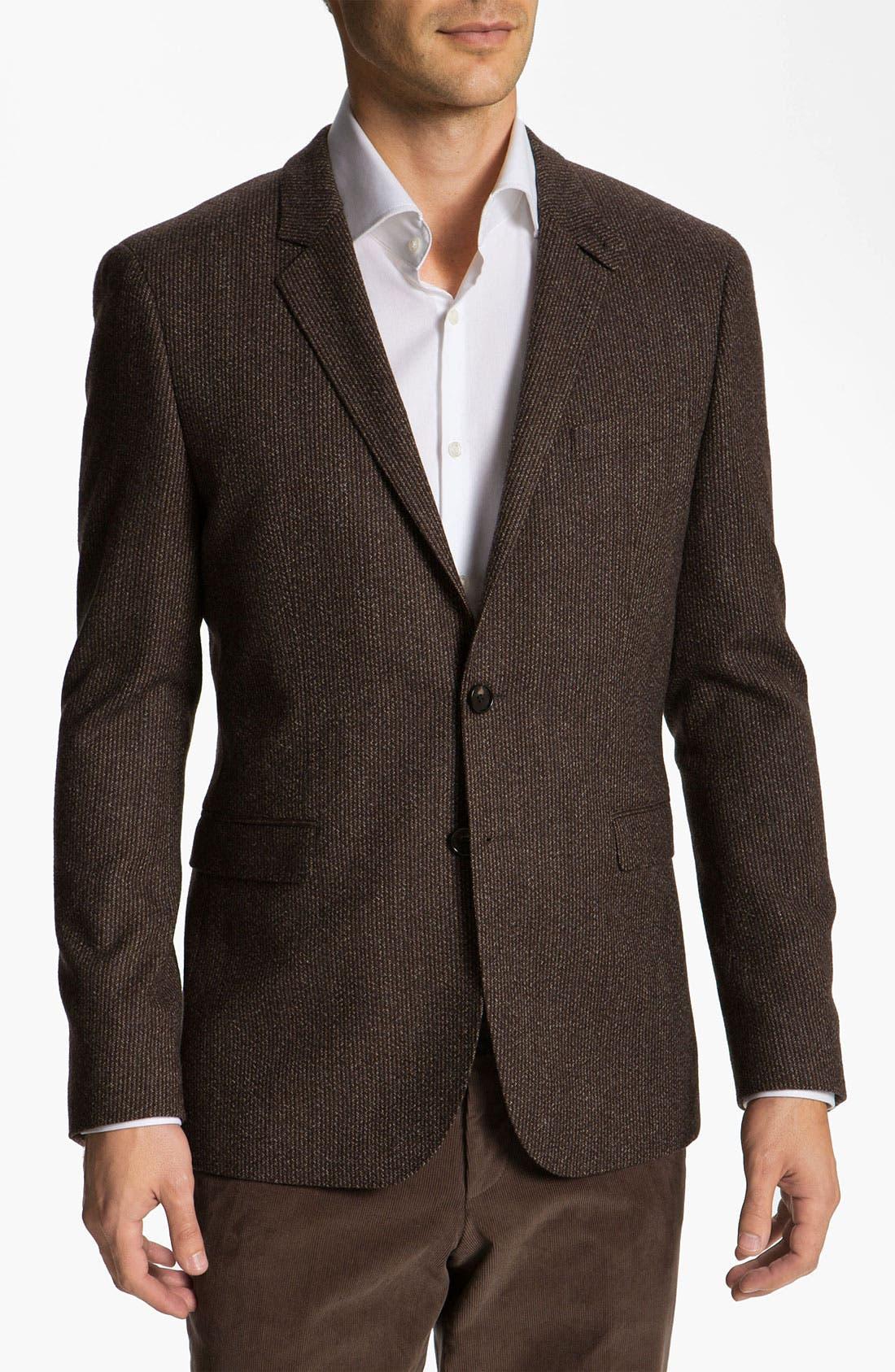 Alternate Image 1 Selected - BOSS Black 'Rhett' Extra Trim Fit Sportcoat