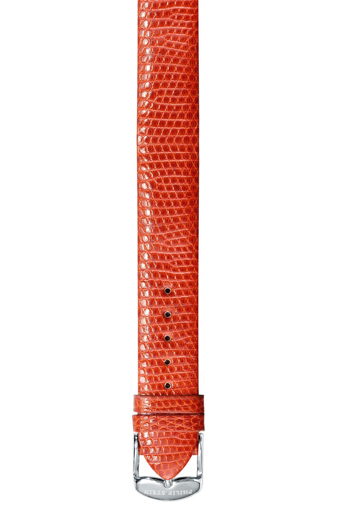 Main Image - Philip Stein® 12mm Lizardskin Watch Strap