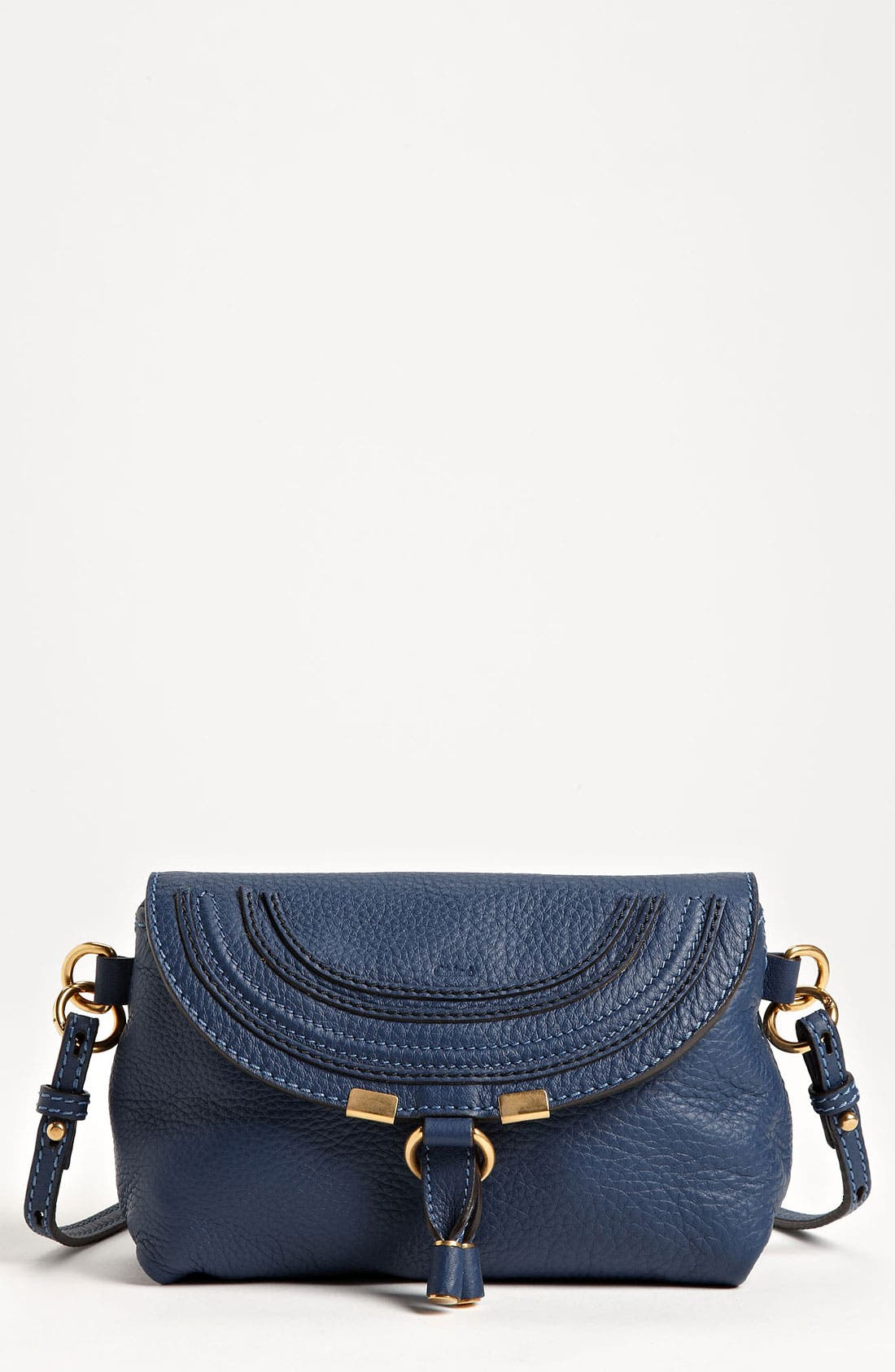 Main Image - Chloé 'Marcie' Calfskin Leather Crossbody Bag