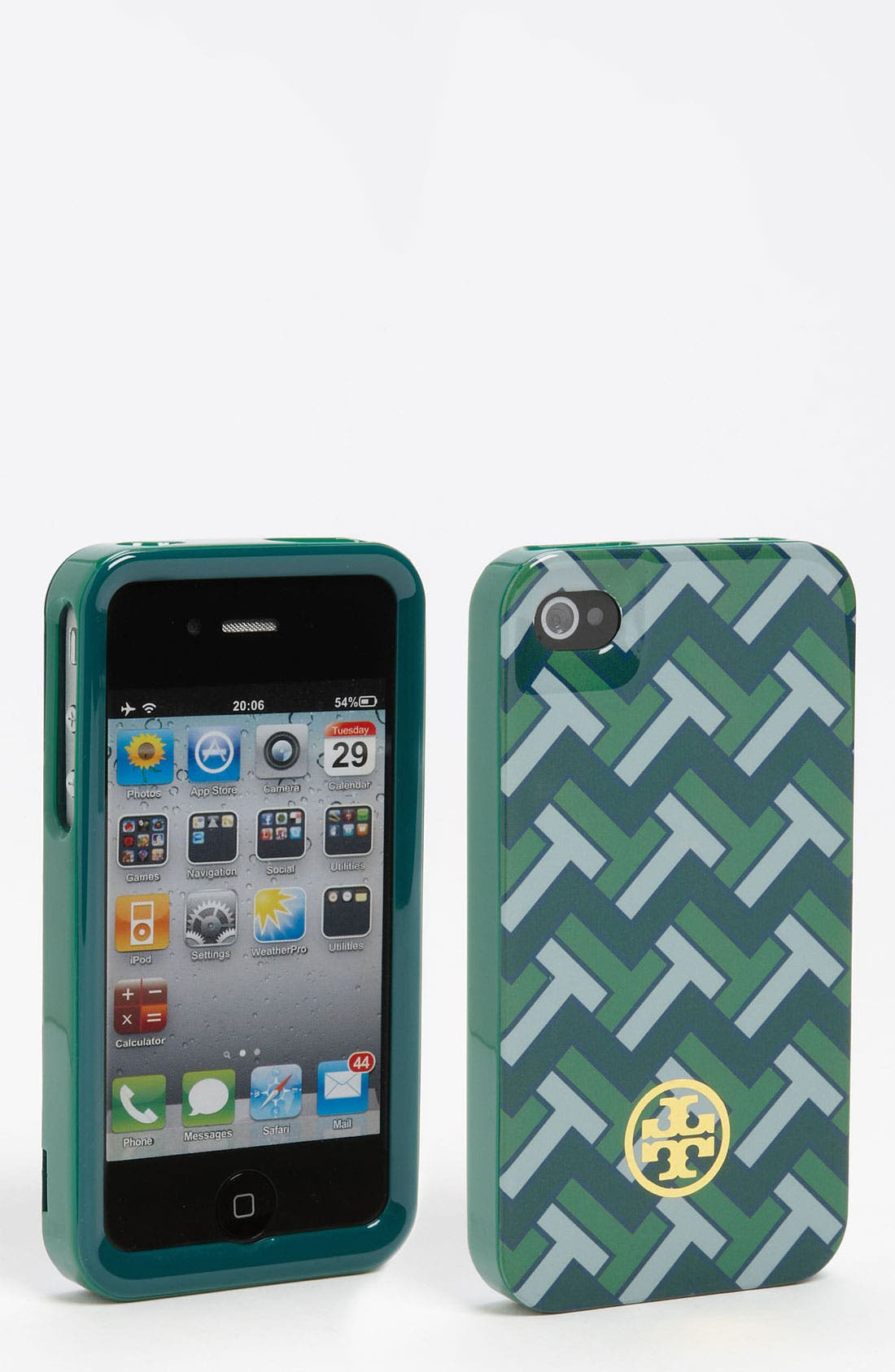 Alternate Image 1 Selected - Tory Burch 'Foxy' Hard Shell iPhone 4 & 4S Case