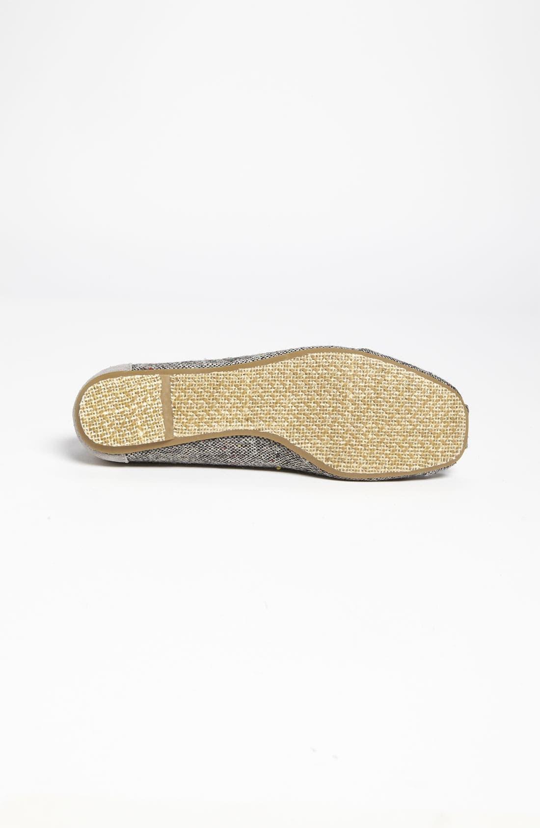 Alternate Image 4  - TOMS 'Tweed Lurex®' Ballet Flat