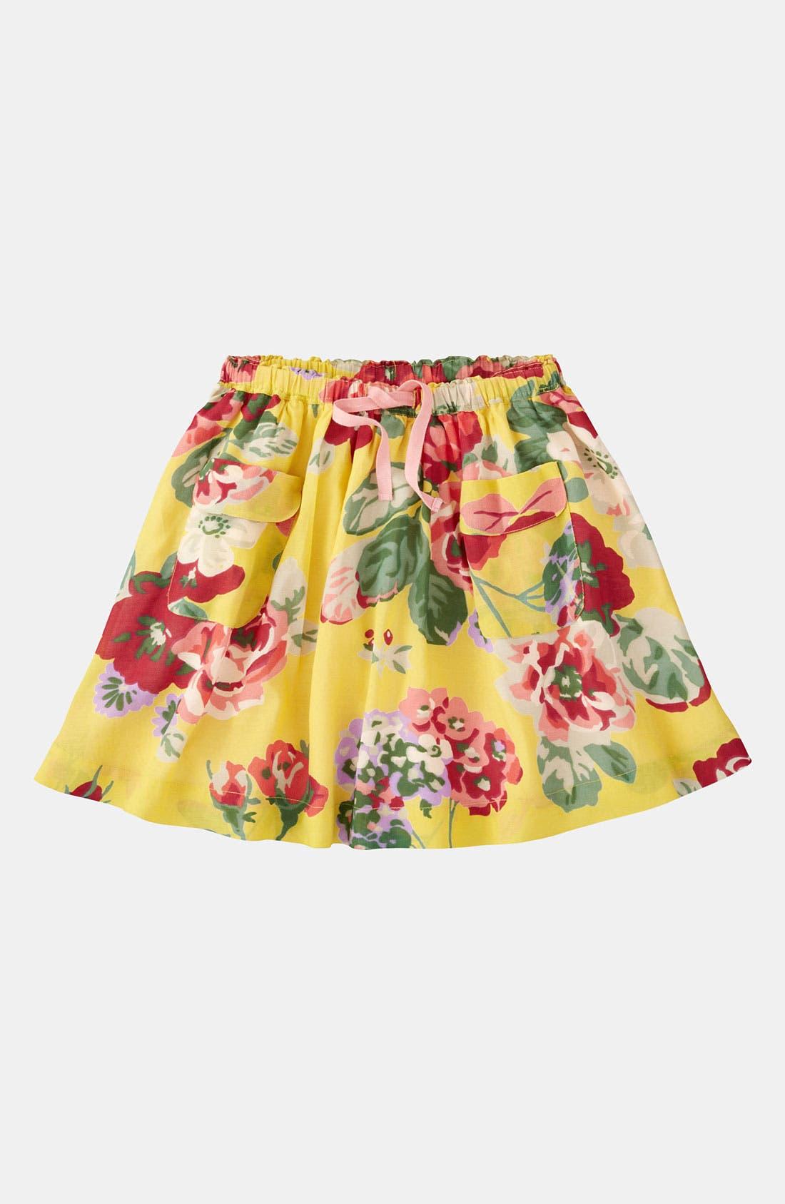 Alternate Image 1 Selected - Mini Boden Print Skirt (Little Girls & Big Girls)