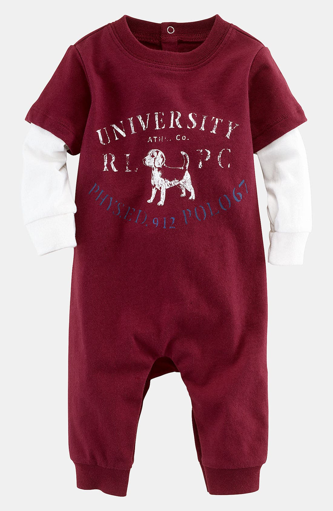 Main Image - Ralph Lauren Romper (Infant)