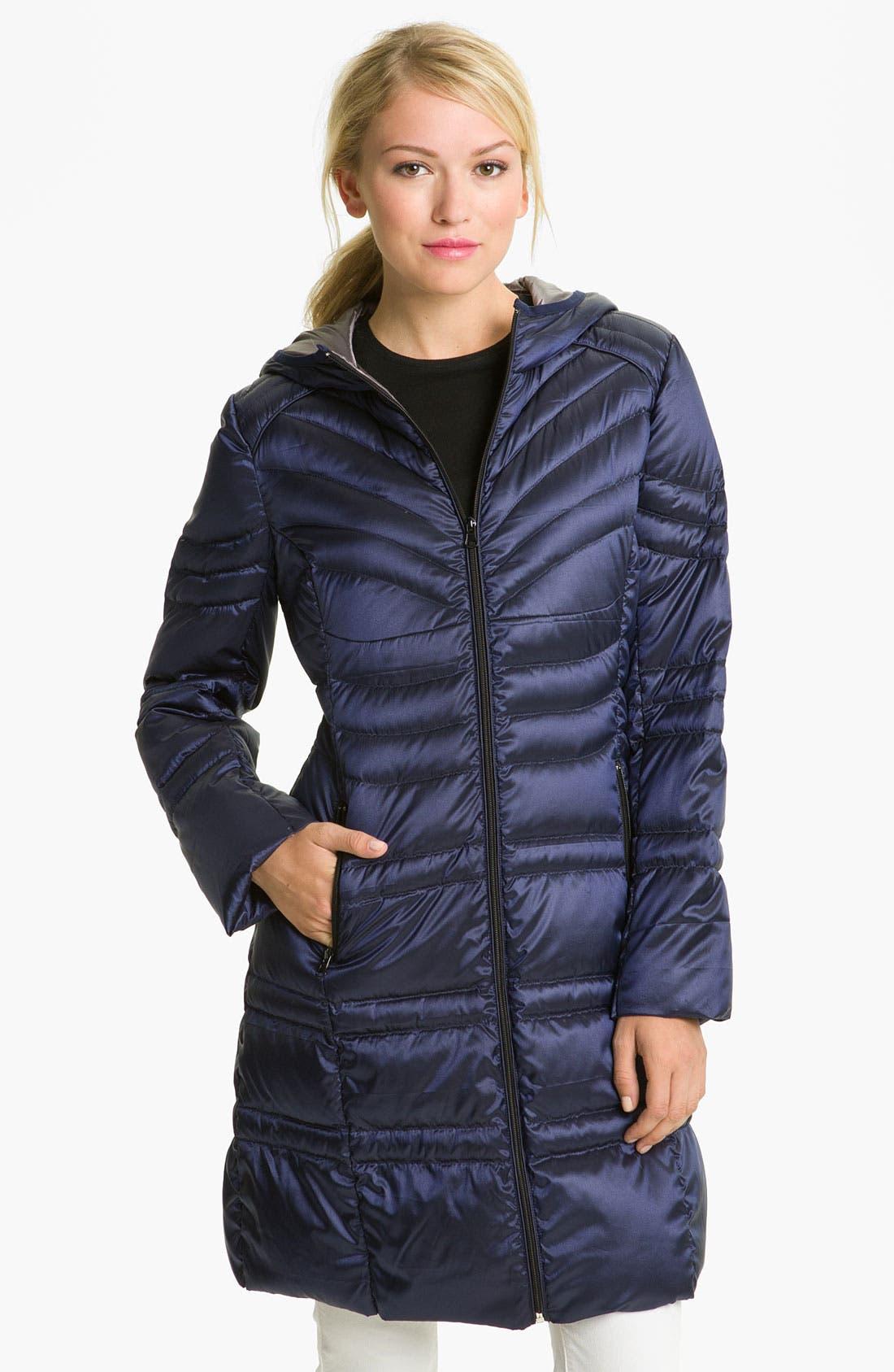 Alternate Image 1 Selected - Bernardo Lightweight Hooded Walking Coat
