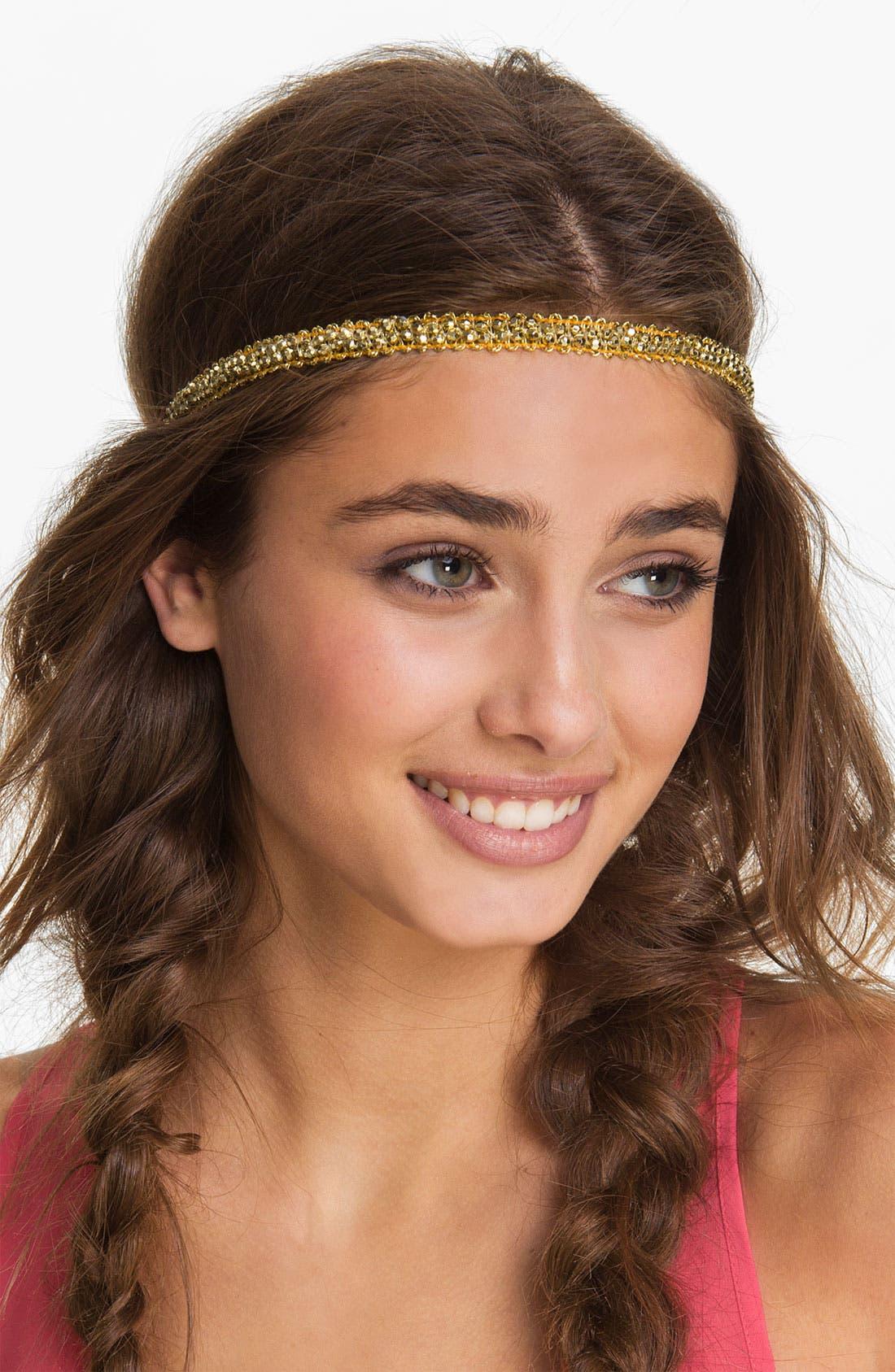 Alternate Image 1 Selected - Lulu Rhinestone Headband