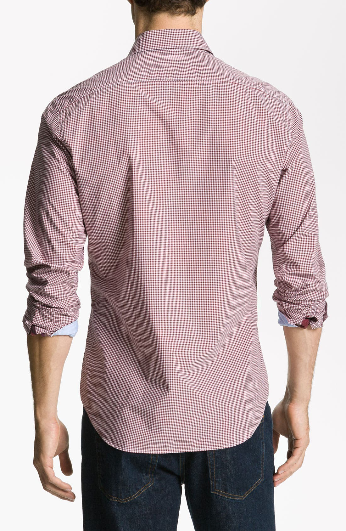 Alternate Image 2  - Burberry Brit Trim Fit Sport Shirt