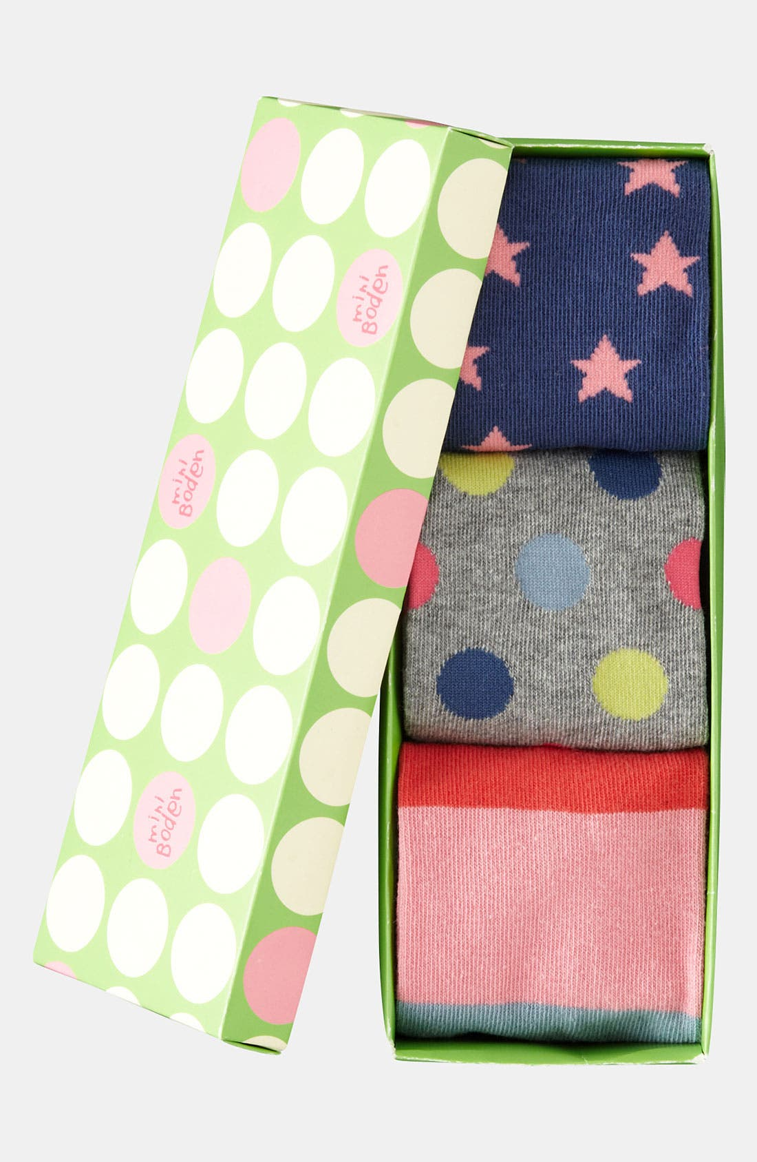 Alternate Image 2  - Mini Boden Knee Socks (3-Pack) (Girls)
