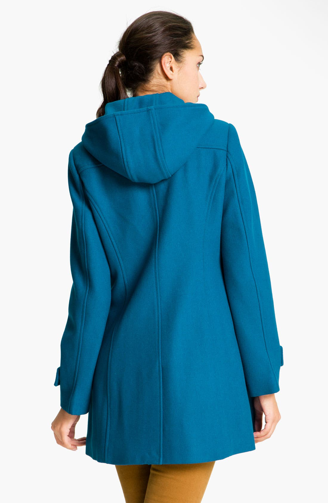 Alternate Image 2  - Vince Camuto Hooded Duffle Coat