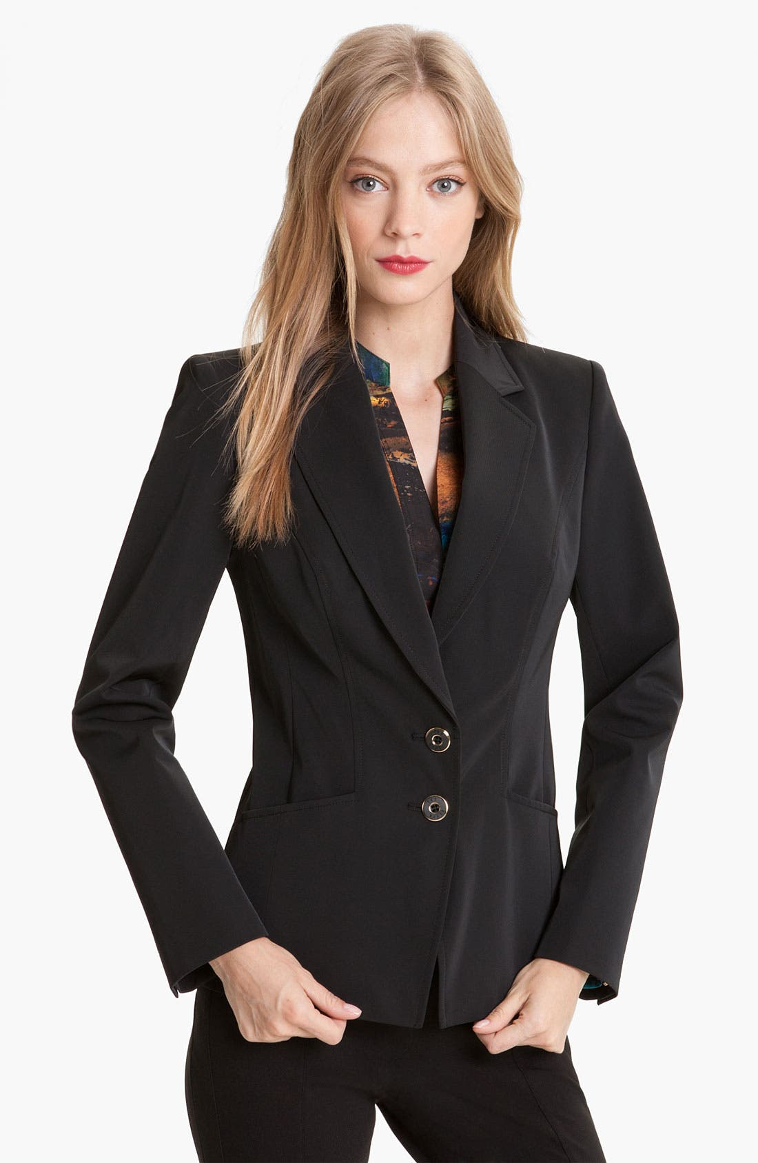 Alternate Image 1 Selected - Ted Baker London Techno Stretch Blazer