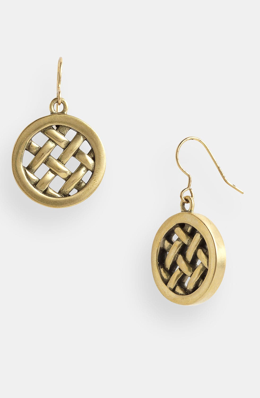 Main Image - Tory Burch 'Labyrinth' Drop Earrings