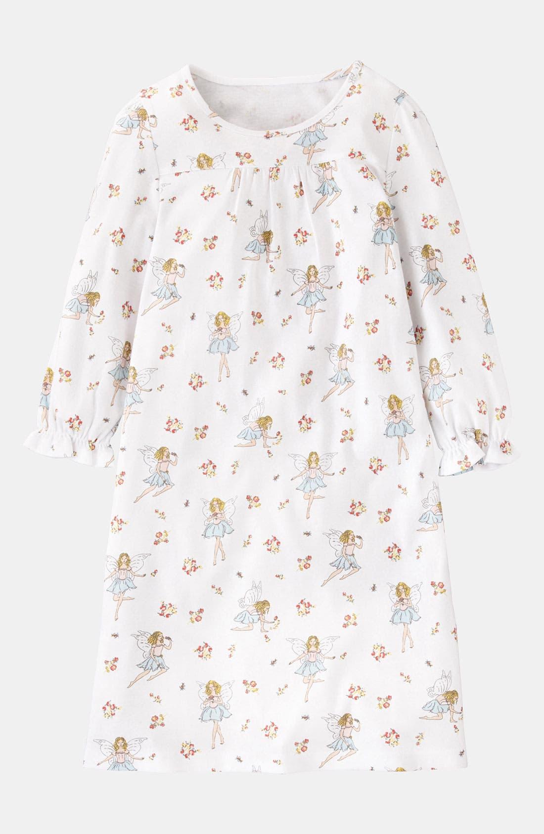 Alternate Image 1 Selected - Mini Boden Print Nightgown (Little Girls & Big Girls)