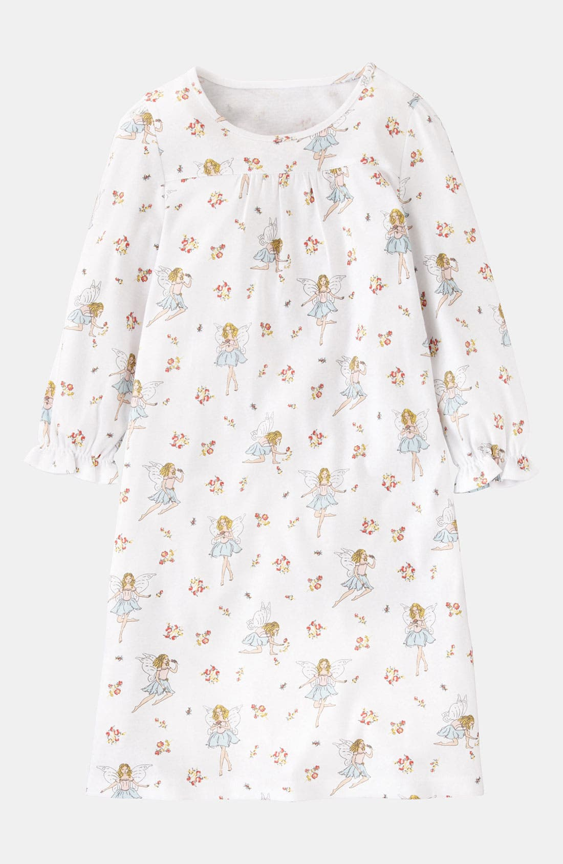 Main Image - Mini Boden Print Nightgown (Little Girls & Big Girls)
