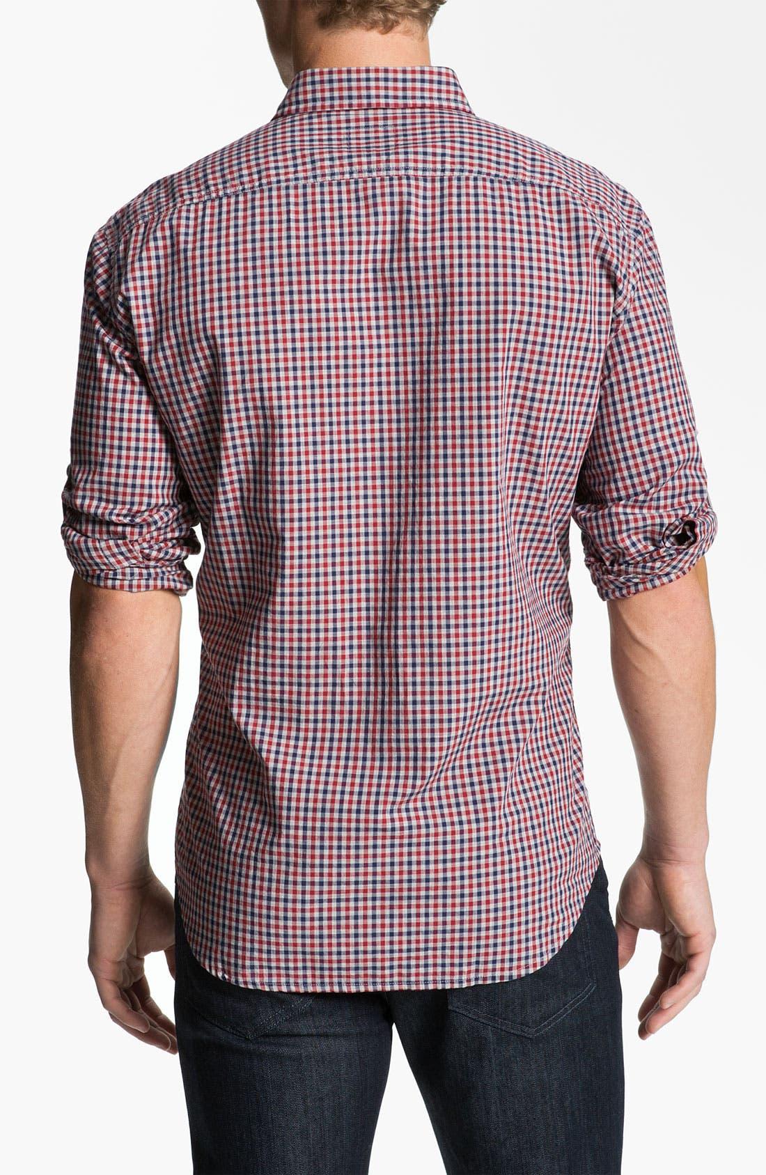 Alternate Image 2  - BOSS Orange 'Ezzeronee' Check Woven Shirt