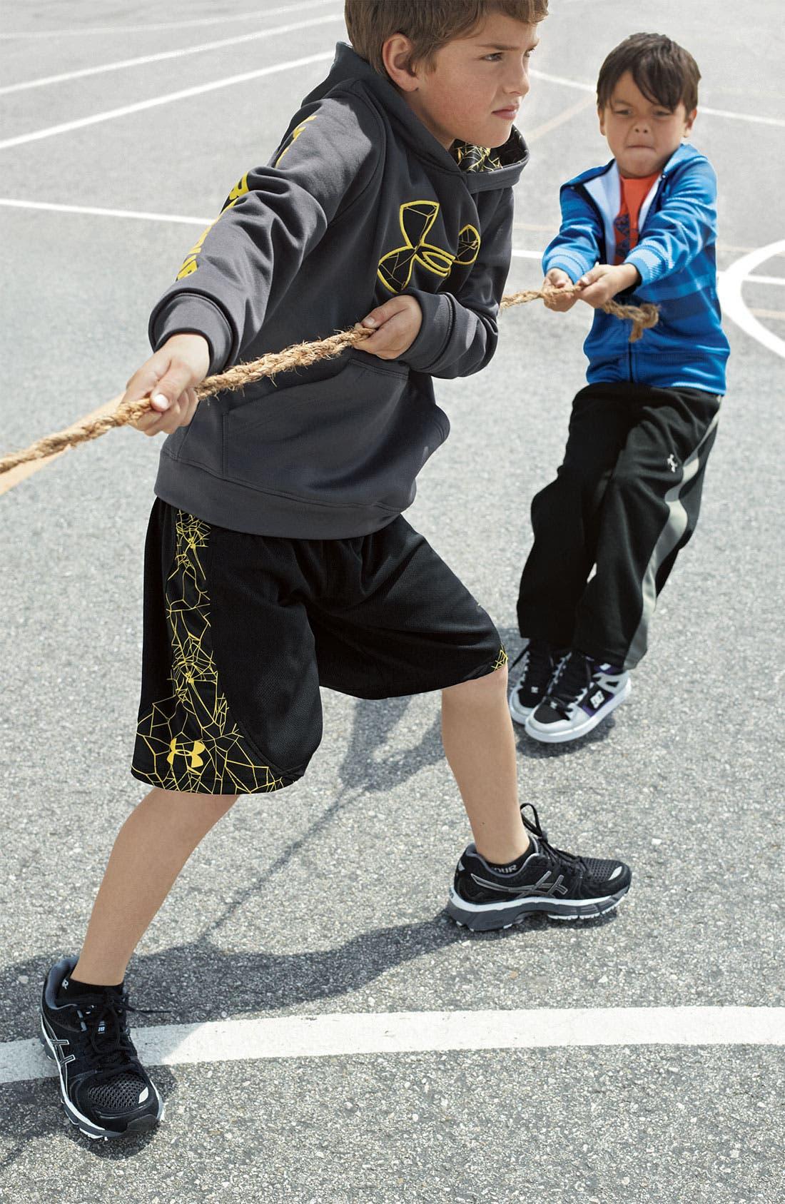 Alternate Image 2  - Under Armour T-Shirt, Hoodie & Pants (Little Boys)