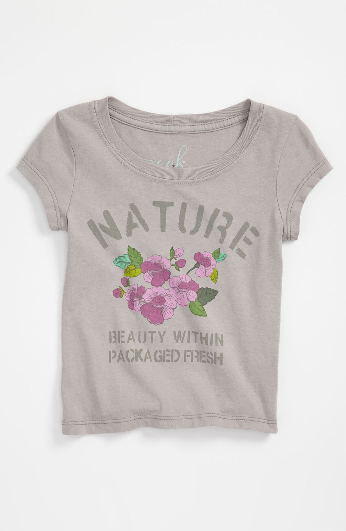 Main Image - Peek 'Nature' Tee (Toddler, Little Girls & Big Girls)