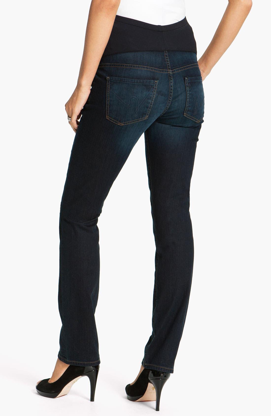 Alternate Image 2  - Citizens of Humanity 'Thompson' Maternity Skinny Jeans (Faith)