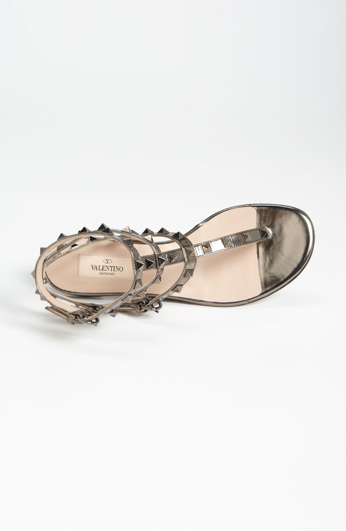 Alternate Image 3  - Valentino 'Rockstud' Flat Sandal