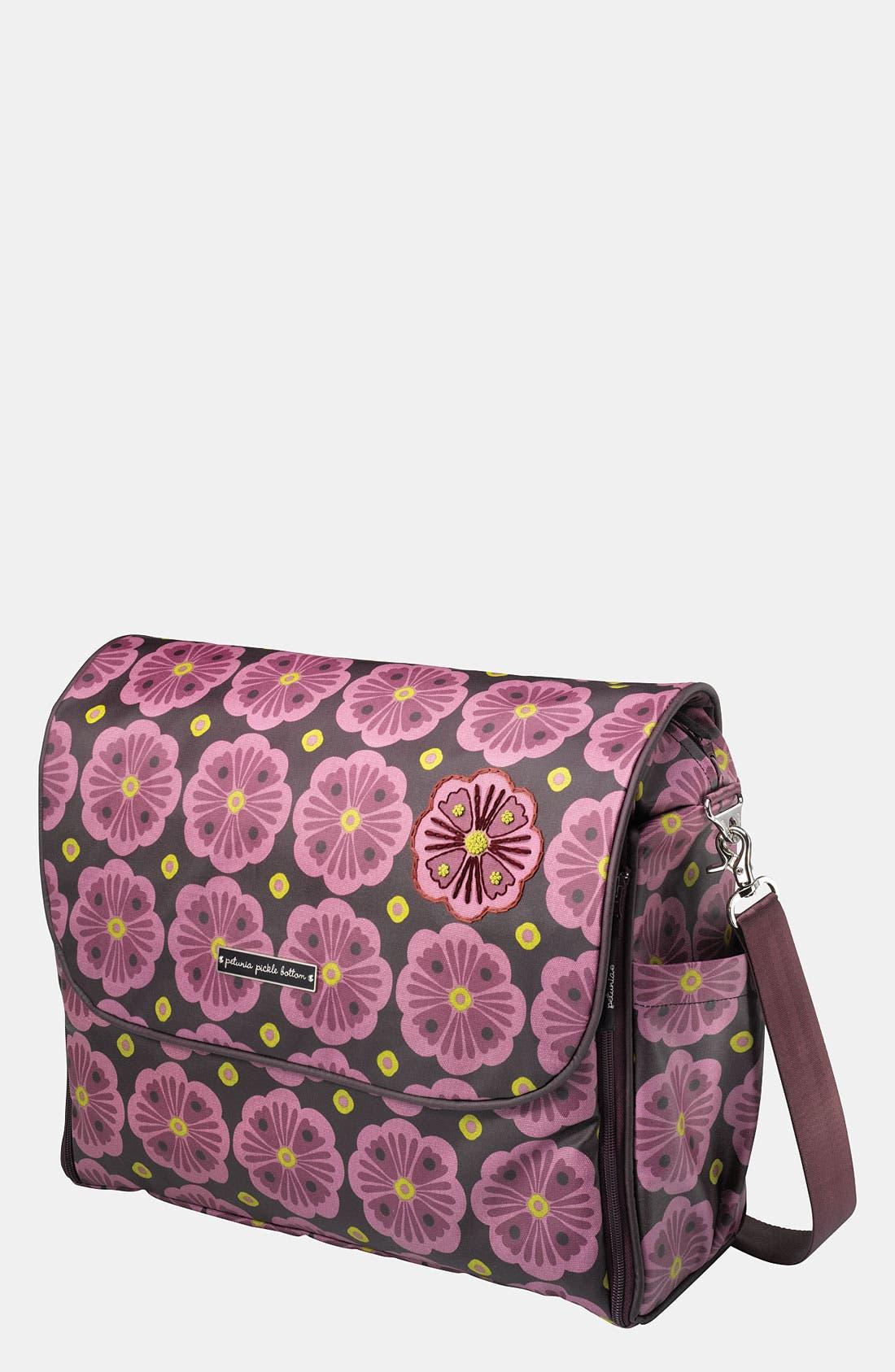 Alternate Image 1 Selected - Petunia Pickle Bottom 'Abundance Boxy' Magnetic Closure Diaper Bag