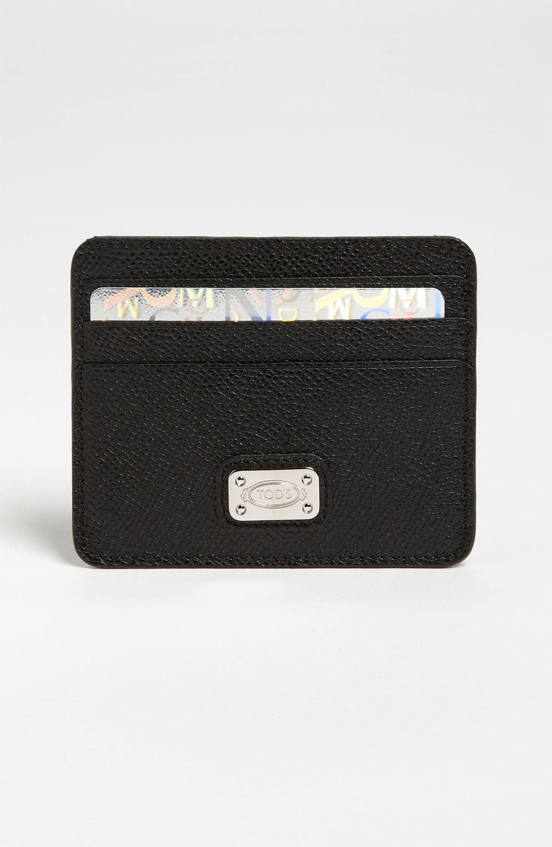 Main Image - Tod's Leather Credit Card Case