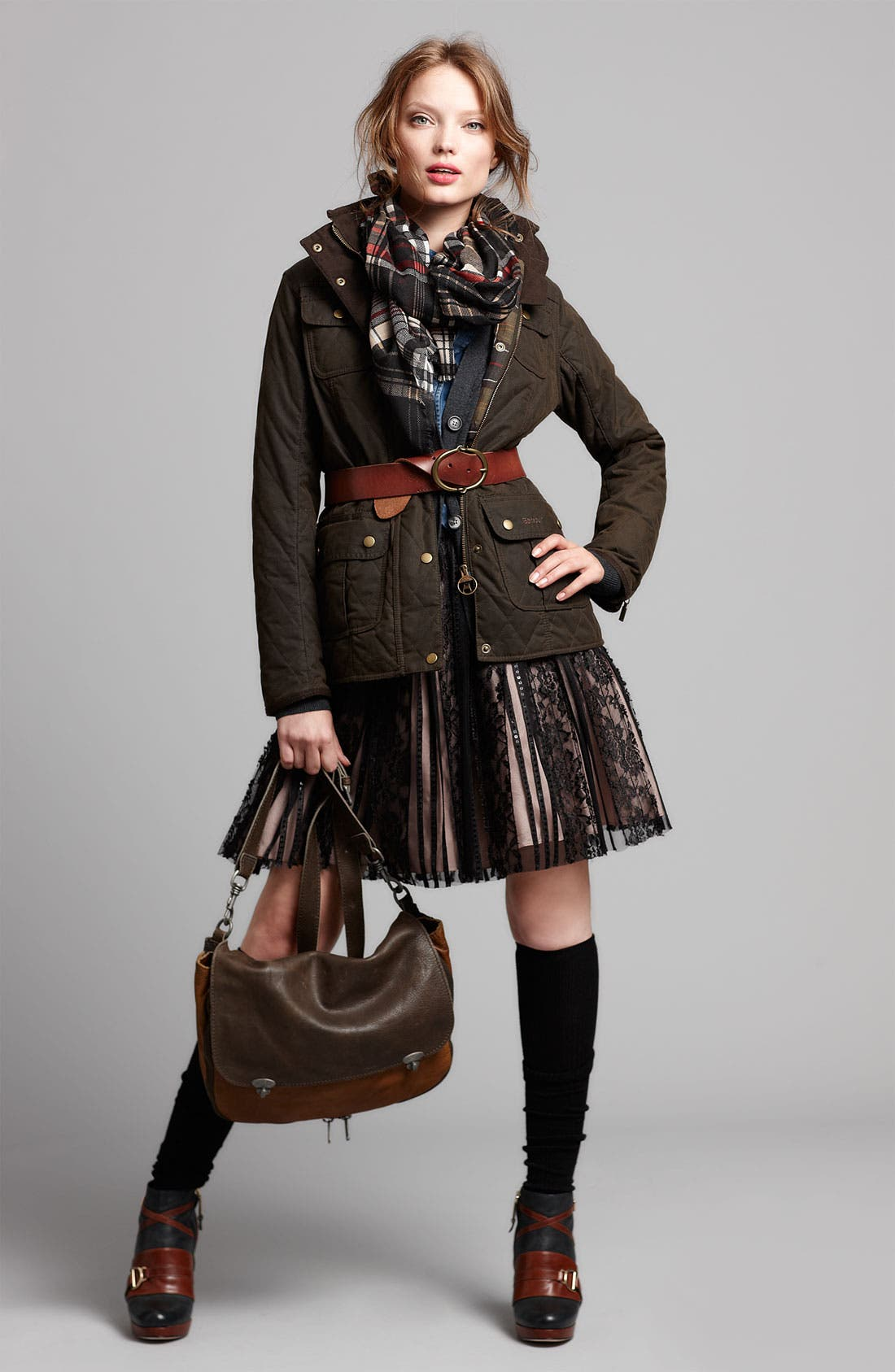 Alternate Image 6  - Barbour Quilted Utility Jacket