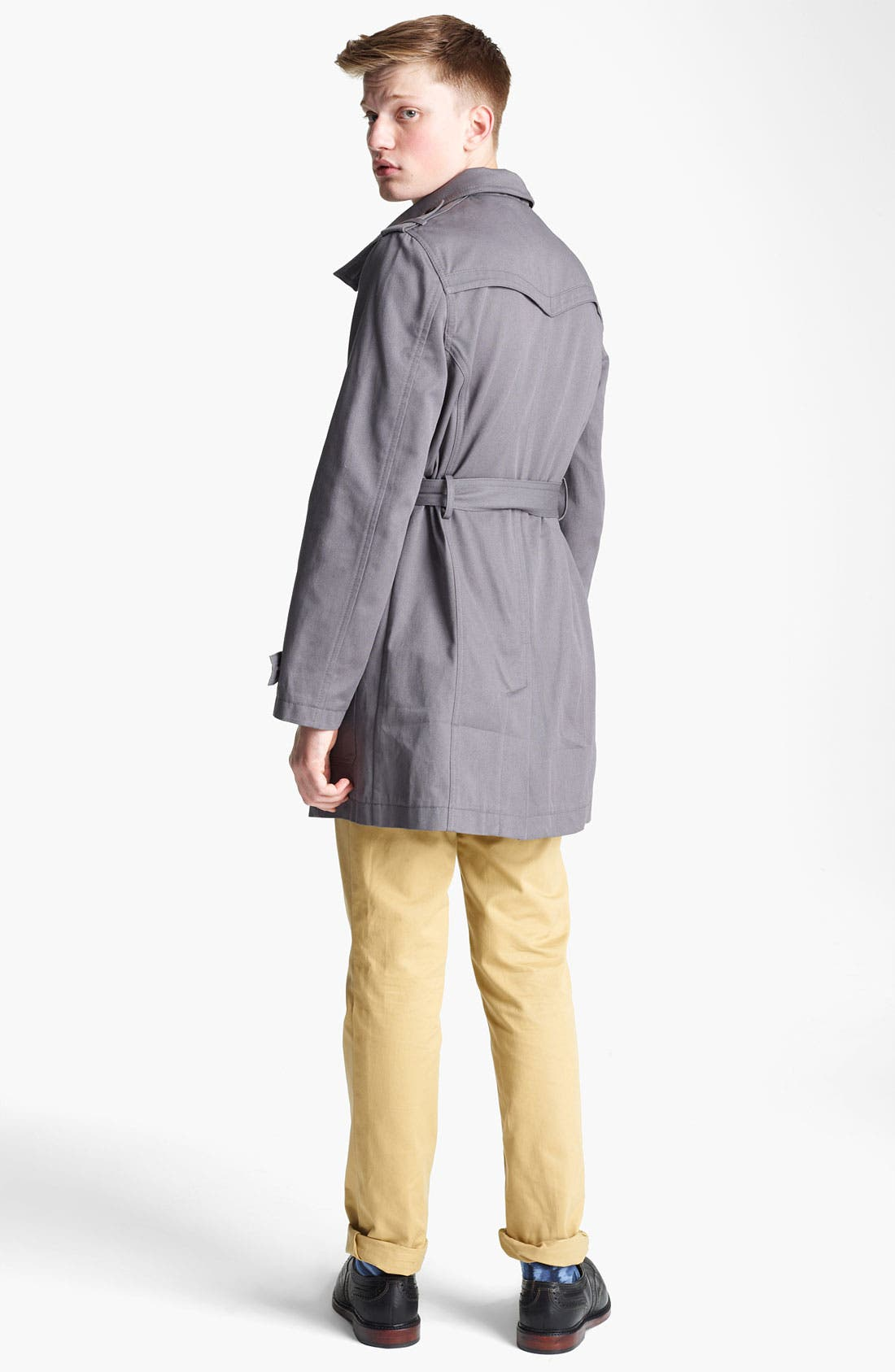 Alternate Image 5  - Topman 'Kennington' Full Length Jacket