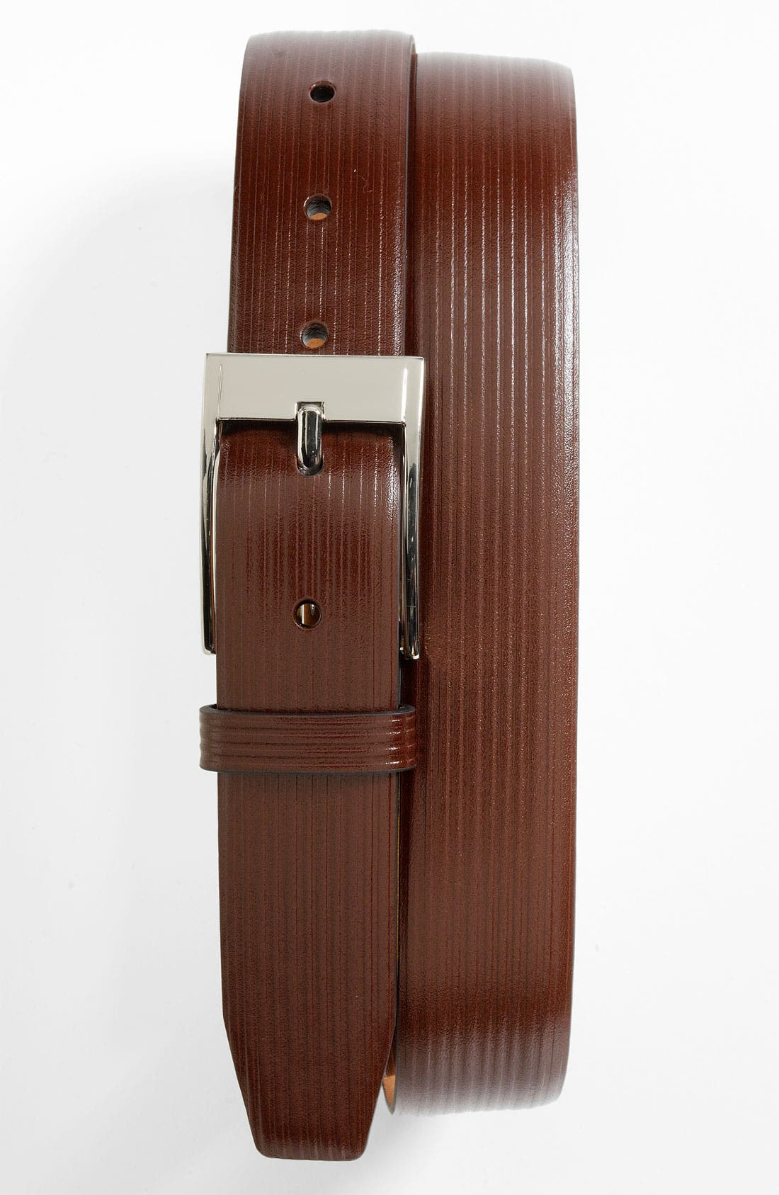 Alternate Image 1 Selected - Trafalgar 'Hartford' Leather Belt
