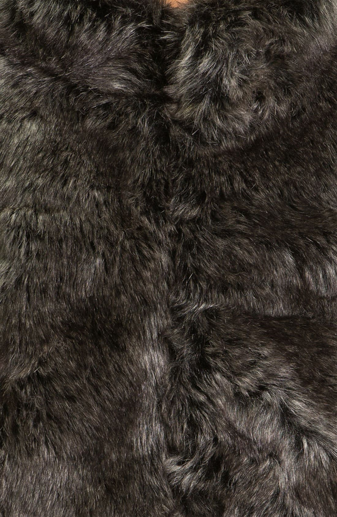 Alternate Image 4  - Eliza J Dolman Sleeve Faux Fur Bolero
