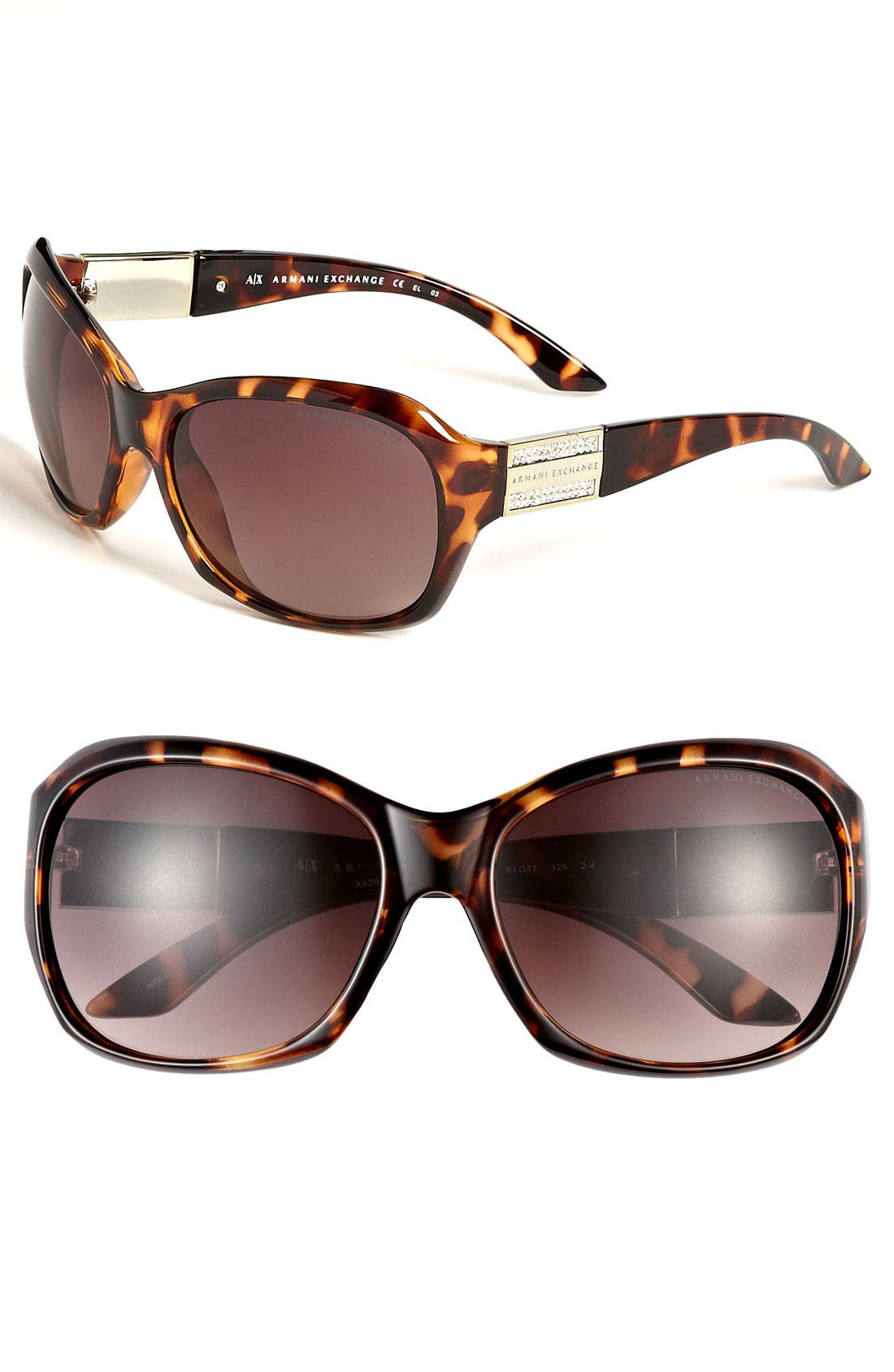 Main Image - AX Armani Exchange Sunglasses
