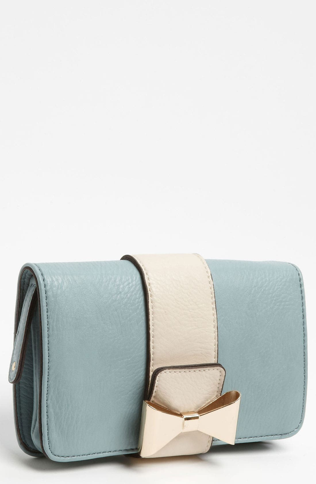 Alternate Image 1 Selected - Street Level 'Metal Bow' Clutch