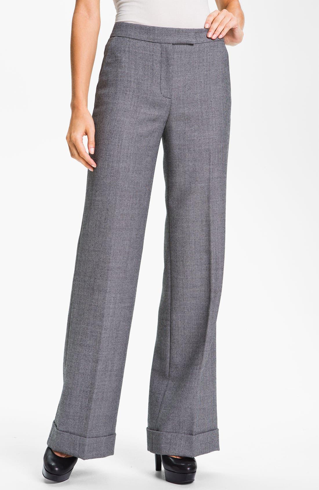 Alternate Image 1 Selected - Classiques Entier® 'Mellow Mélange' Pants