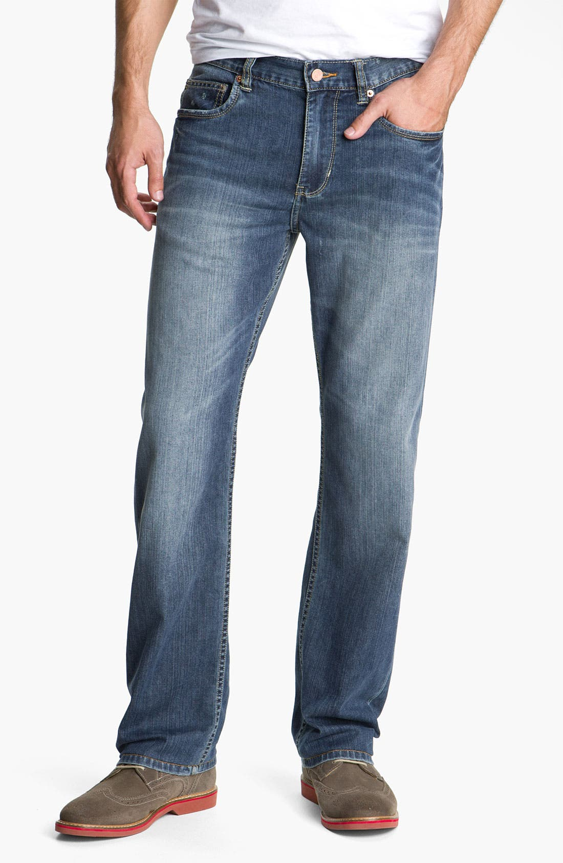 Main Image - Tommy Bahama Denim 'Dylan' Standard Fit Jeans (Vintage Medium)