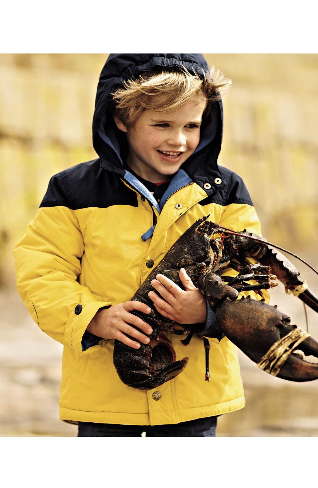 Alternate Image 4  - Mini Boden Fleece Lined Jacket (Little Boys & Big Boys)