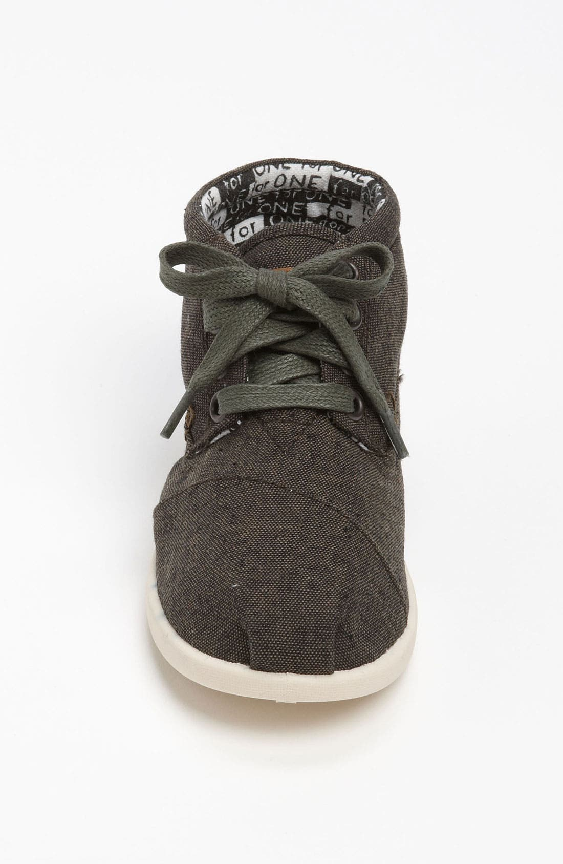Alternate Image 3  - TOMS 'Botas - Youth' Chambray Boot (Toddler, Little Kid & Big Kid)