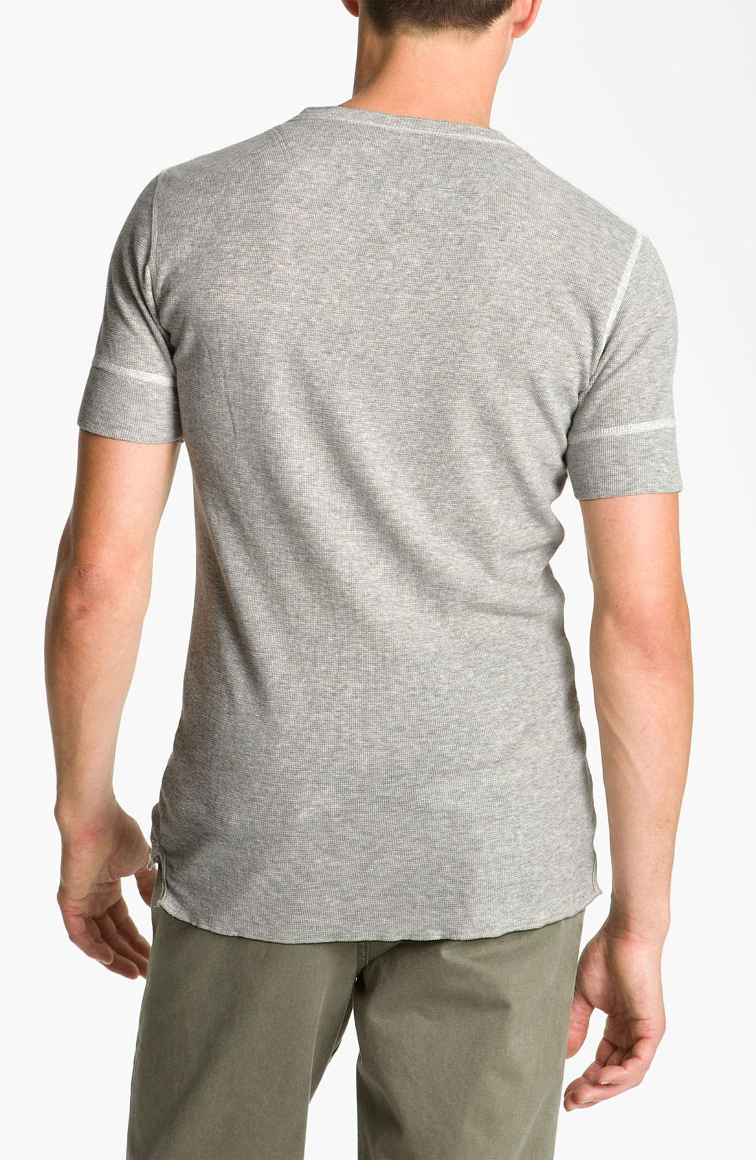 Alternate Image 2  - DIESEL® Waffle Knit Thermal T-Shirt