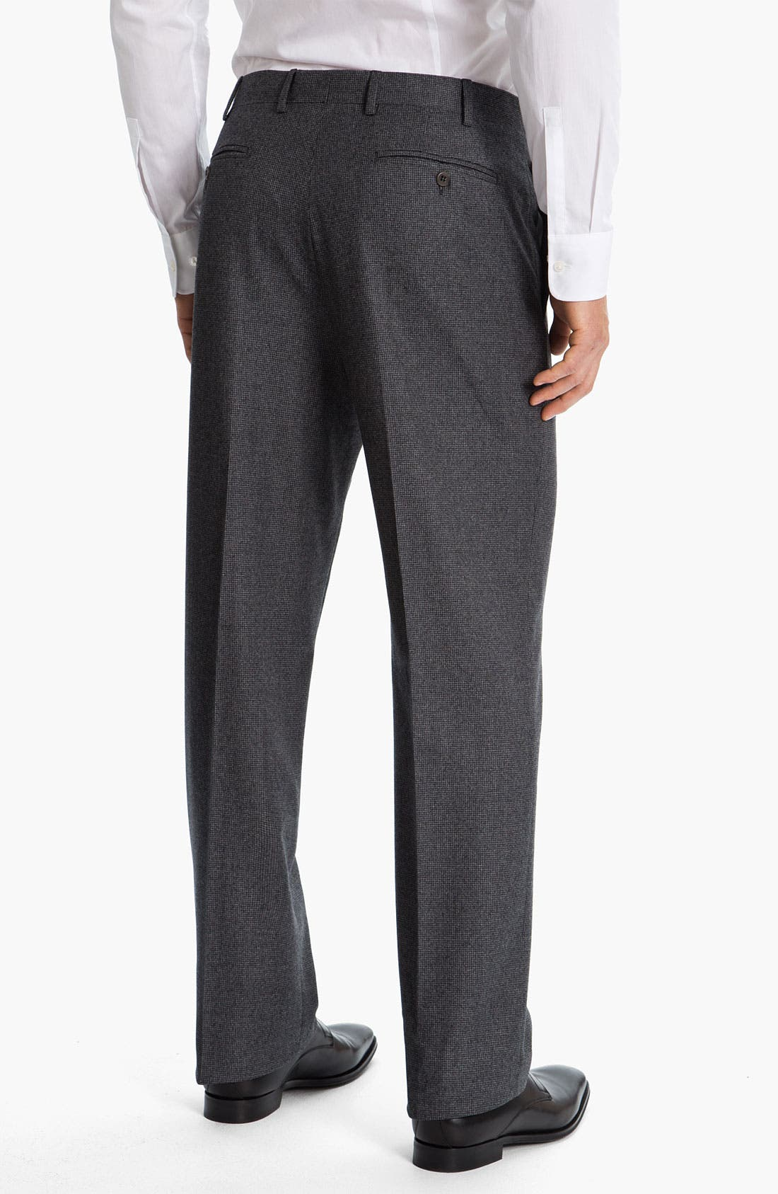 Alternate Image 2  - Zanella 'Todd' Flat Front Trousers