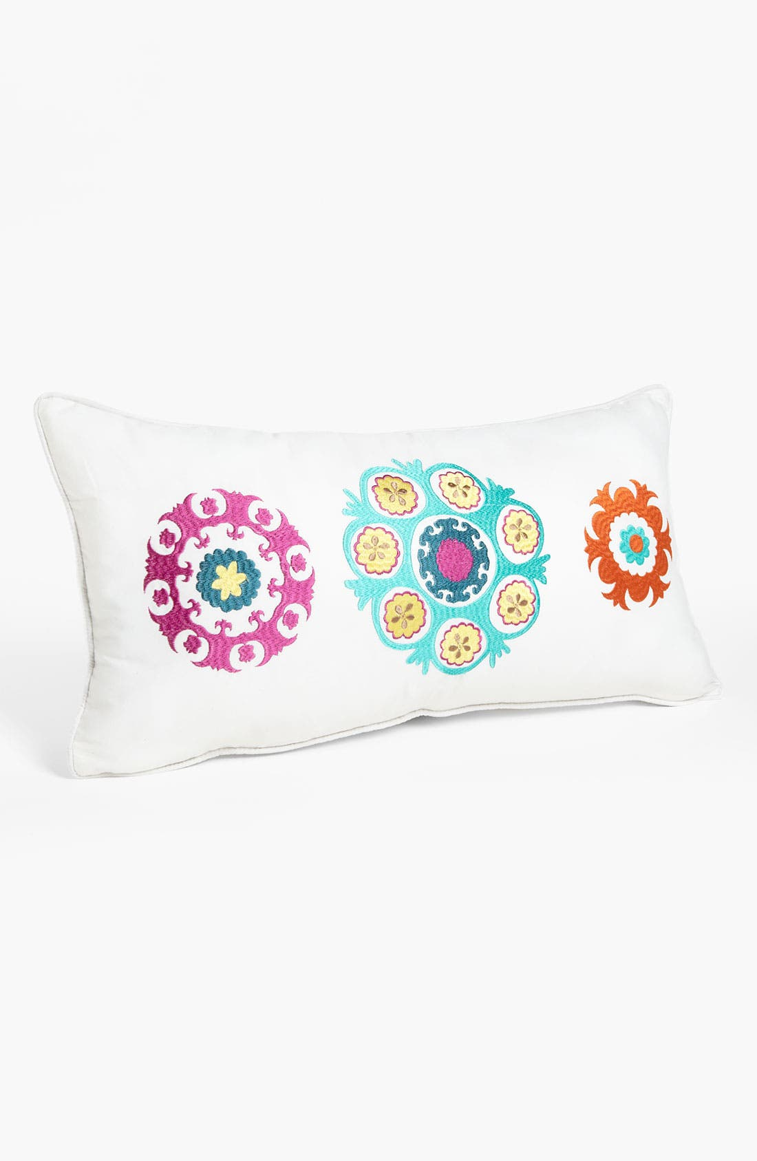 Alternate Image 1 Selected - Levtex Embroidered Medallion Pillow