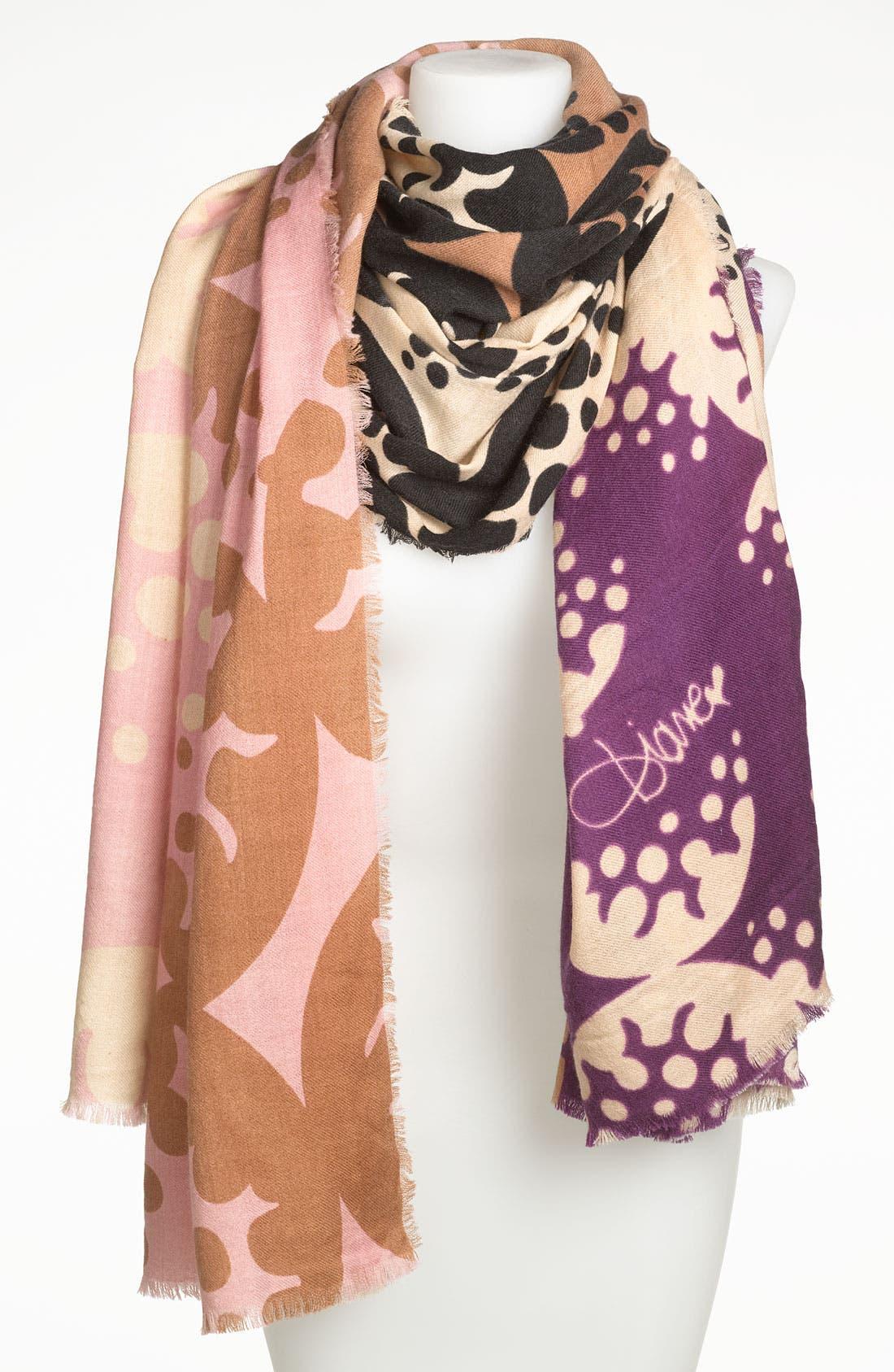 Alternate Image 1 Selected - Diane von Furstenberg Heavy Wool Scarf