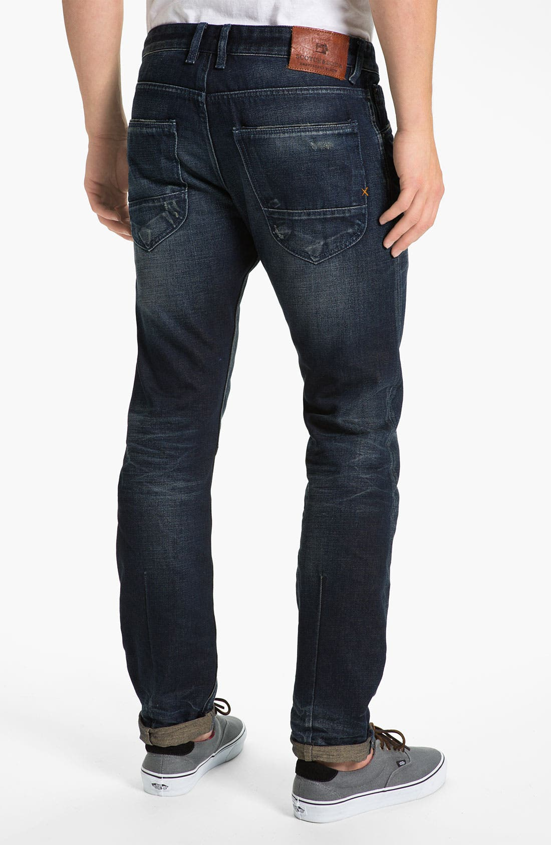 Alternate Image 1 Selected - Scotch & Soda 'Duke' Slim Tapered Leg Jeans (Breslin)