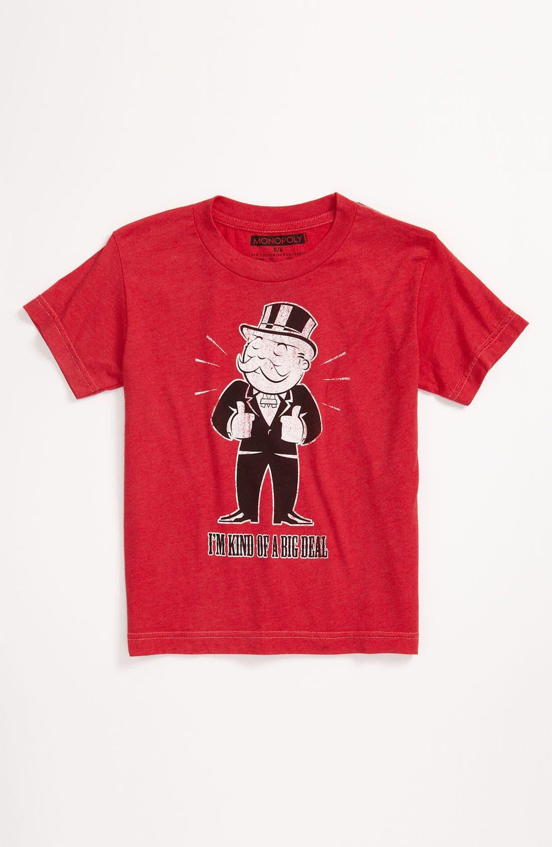Alternate Image 1 Selected - Jem 'Big Deal Monopoly®' T-Shirt (Little Boys)