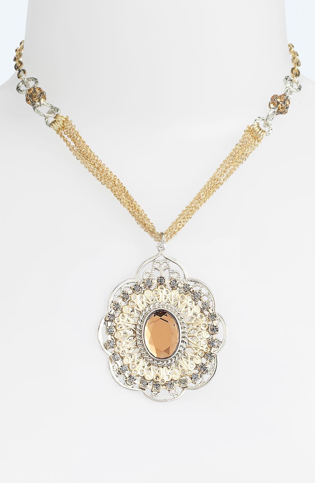 Alternate Image 1 Selected - Nordstrom 'Romantics' Pendant Necklace