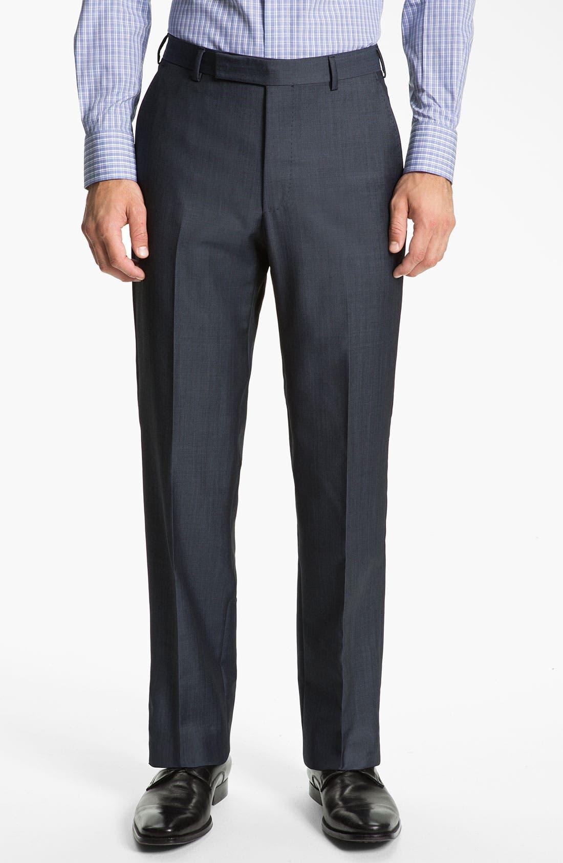 Alternate Image 4  - Z Zegna Trim Fit Wool Suit