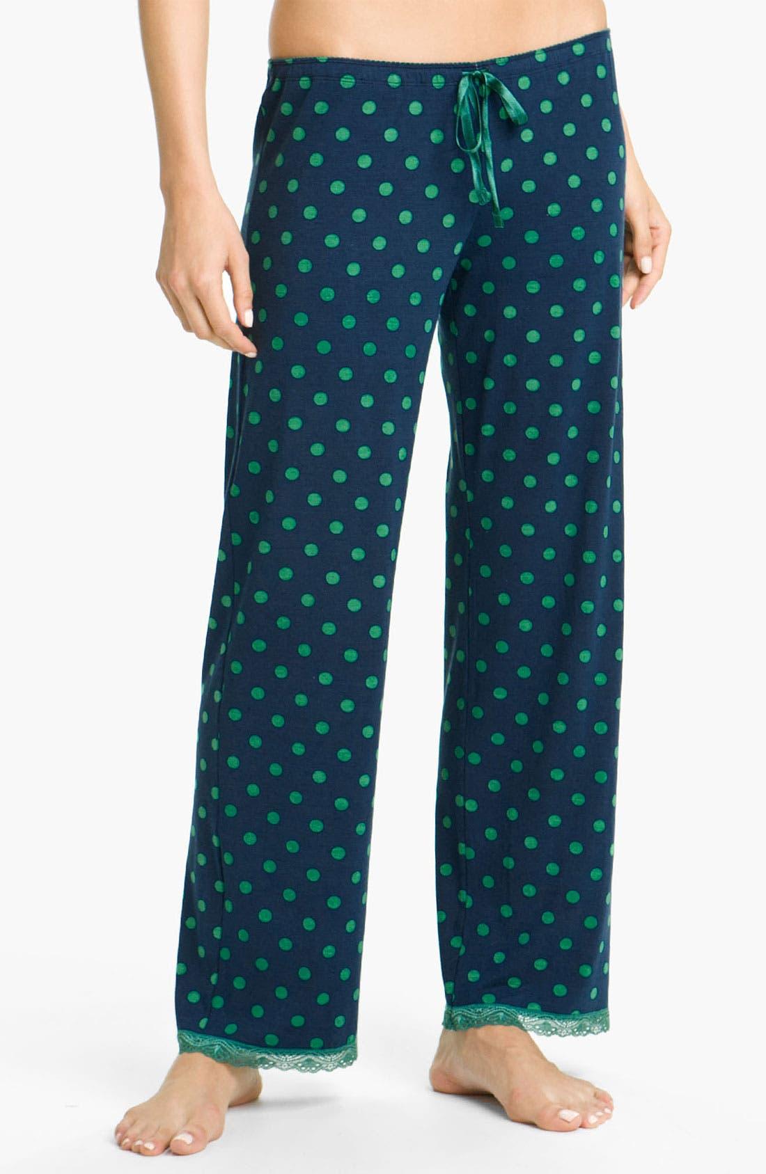 Alternate Image 1 Selected - PJ Salvage 'Emerald City' Knit Lounge Pants