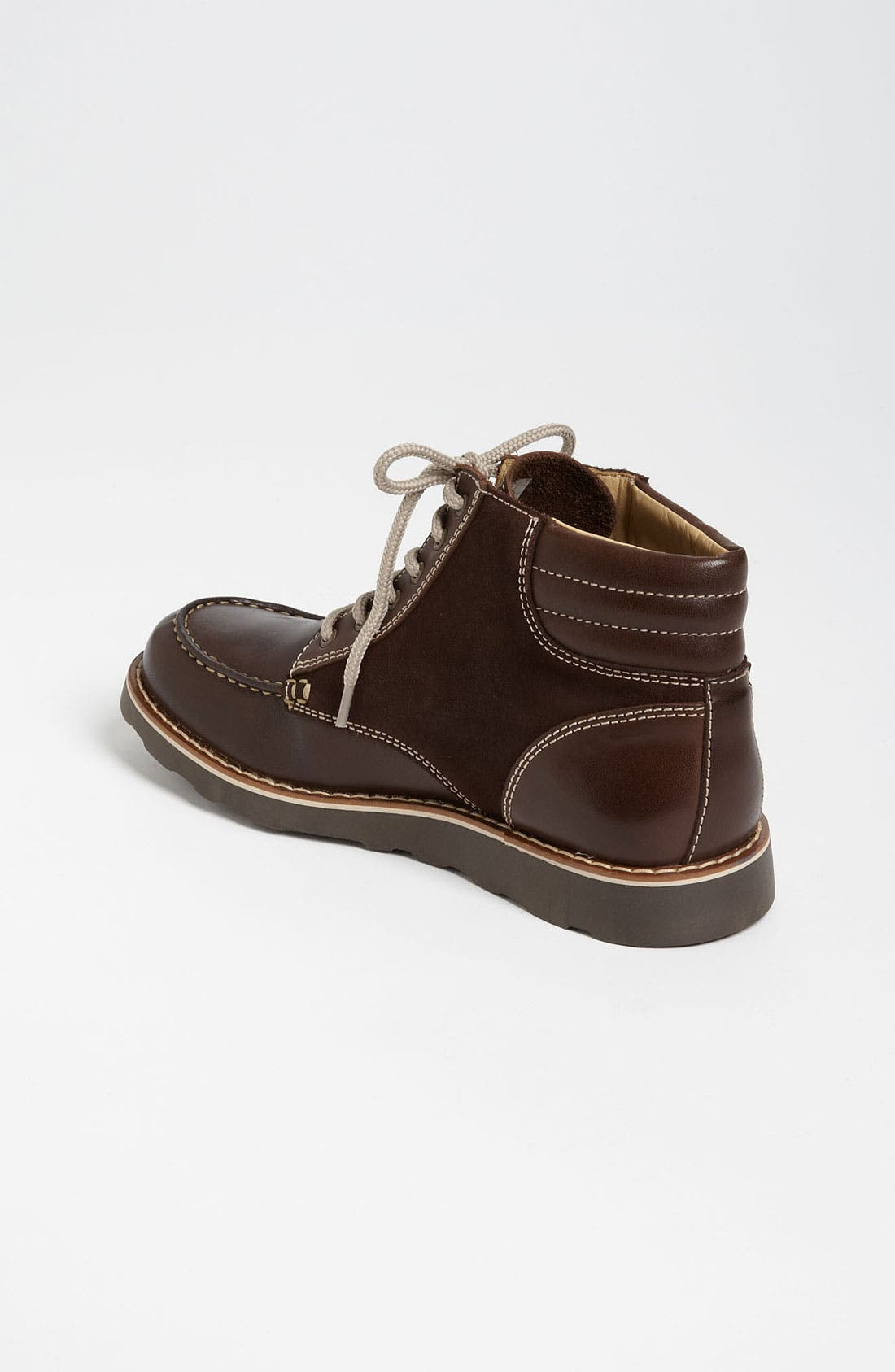 Alternate Image 2  - Armani Junior Leather Boot (Toddler, Little Kid & Big Kid)