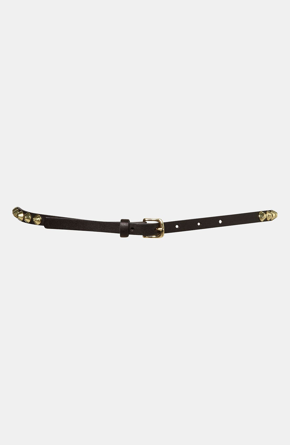 Alternate Image 1 Selected - Topshop 'Studded Grunge' Belt