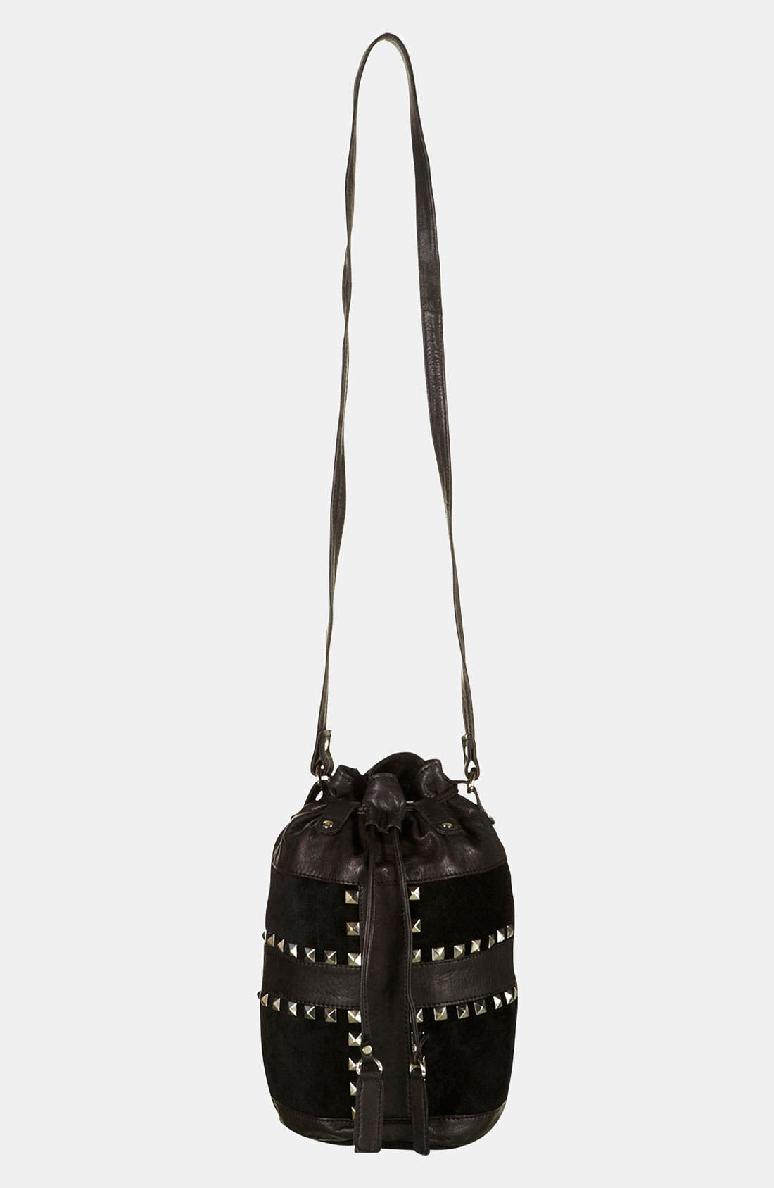 Alternate Image 3  - Topshop 'Cross' Studded Duffle