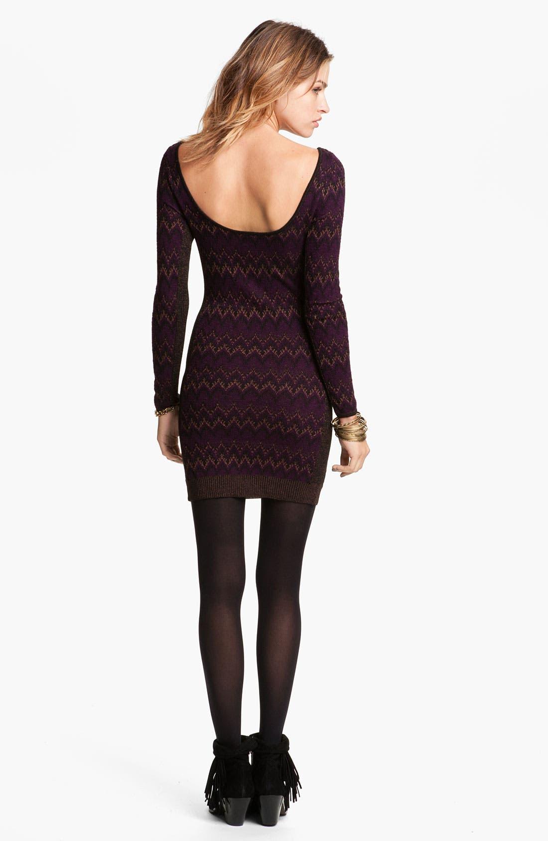 Alternate Image 2  - Free People 'Cozy Cabin' Sweater Dress
