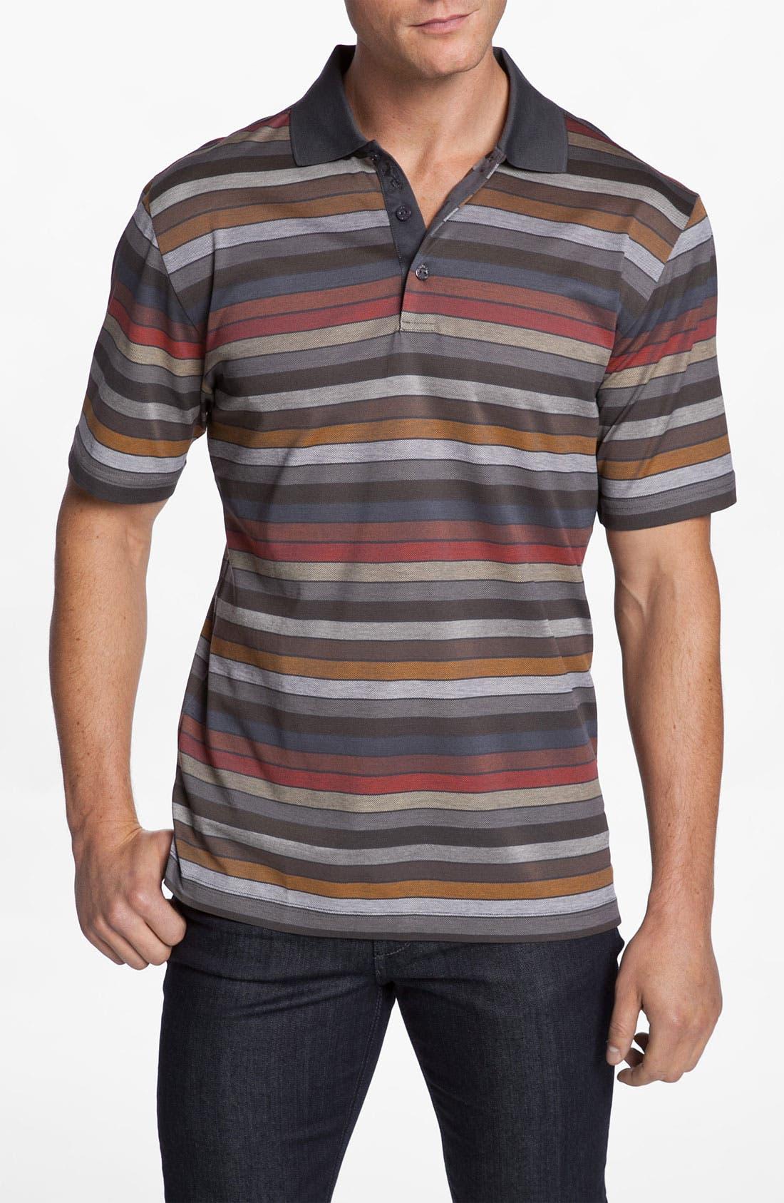 Alternate Image 1 Selected - Bugatchi Uomo Regular Fit Polo