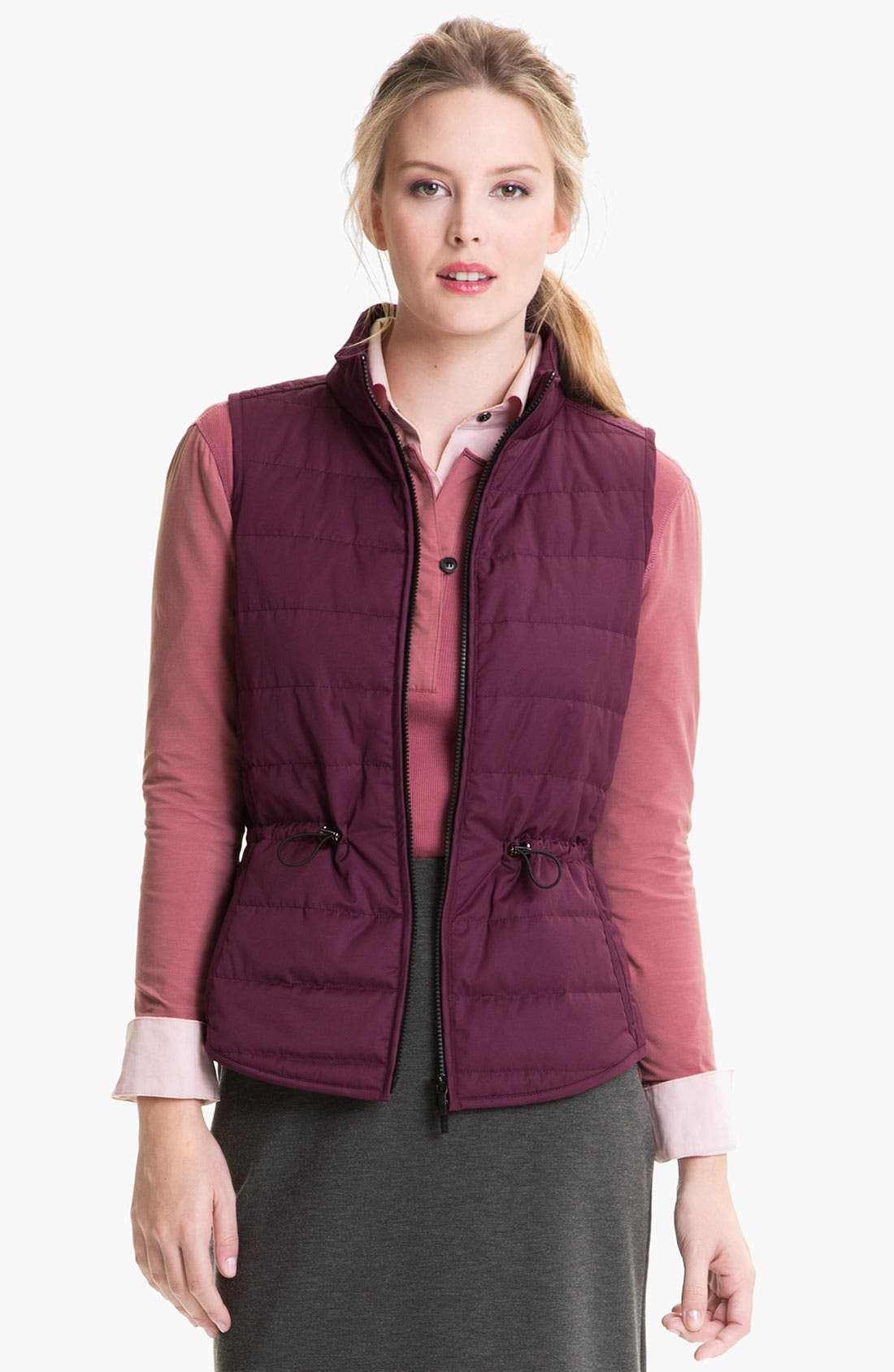 Alternate Image 1 Selected - Lafayette 148 New York 'Dynamic' Vest