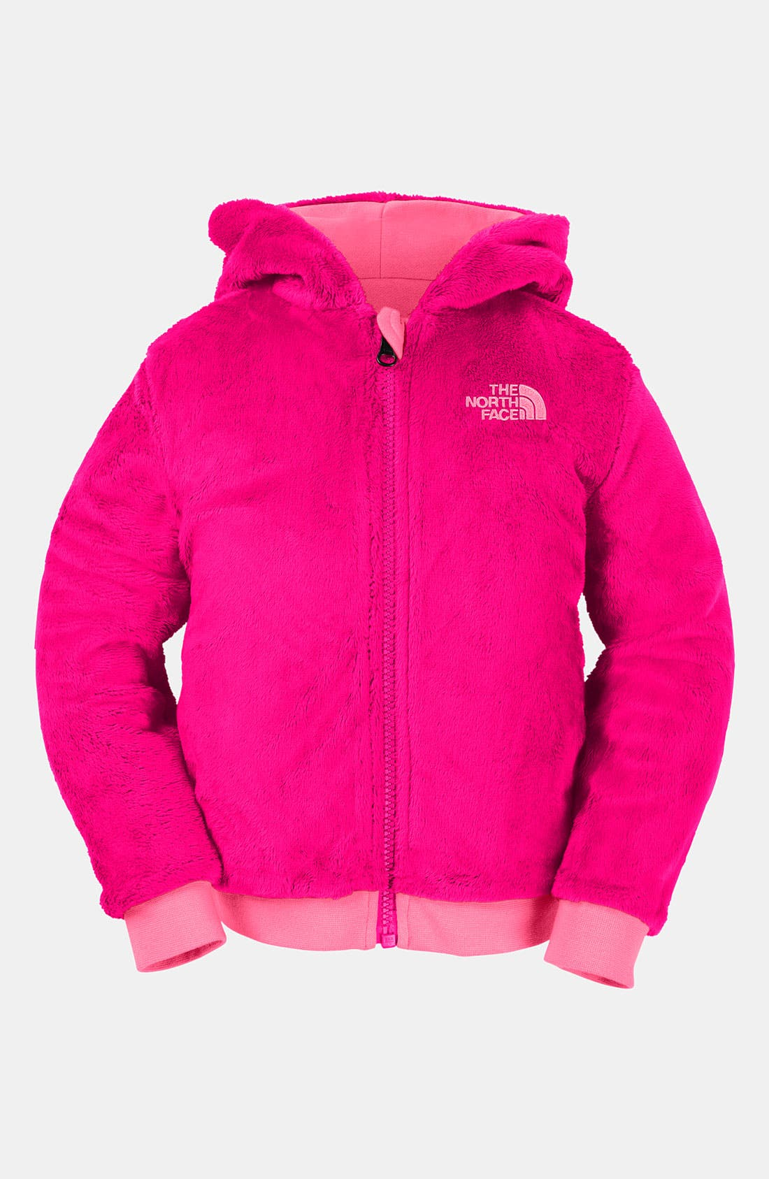 Alternate Image 2  - The North Face 'Elloise' Reversible Hoodie (Toddler)