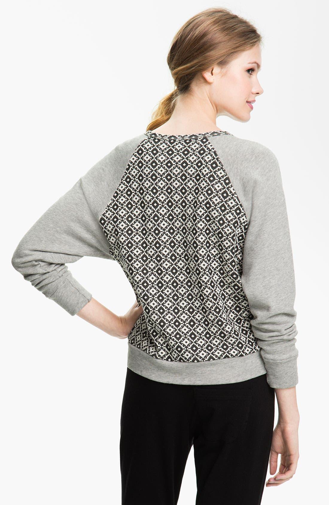 Alternate Image 2  - Pink Lotus 'Adobe' Sweatshirt